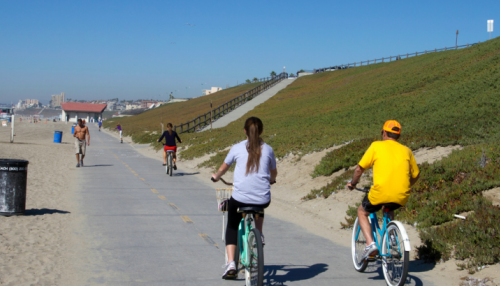 The Strand Beach Bicycle Trail